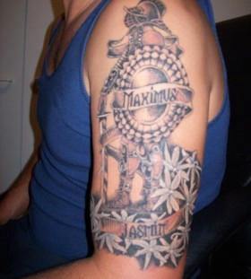 Sweet gladiator maximus tattoo
