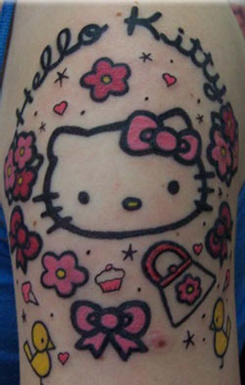 e241cde58 Sweet hello kitty tattoo - | TattooMagz › Tattoo Designs / Ink Works ...