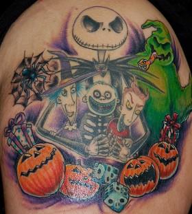 Sweet nightmare before christmas tattoo