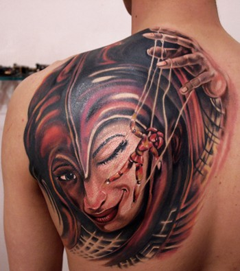 Sweet puppet master tattoo