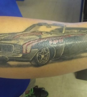 Adorable design car tattoo