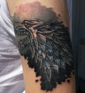 Adorable dragons game of thrones tattoo