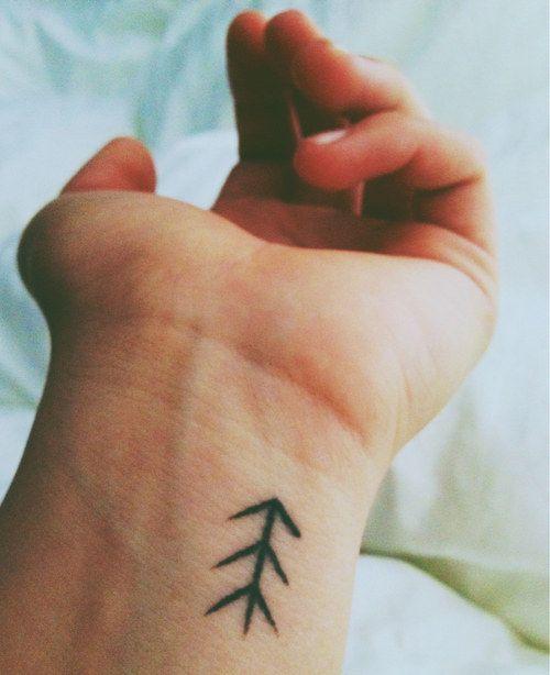 Amazing black small tattoo
