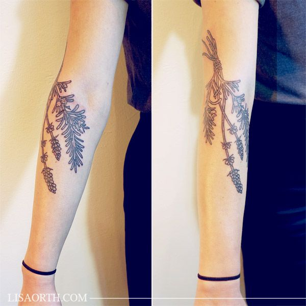 Awesome black tattoo by Lisa Orth