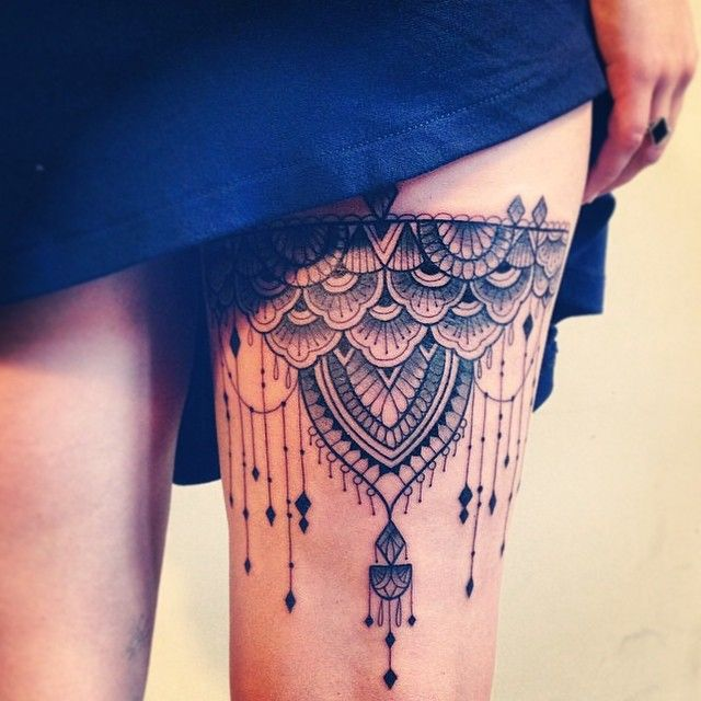 Awesome looking leg's tattoo