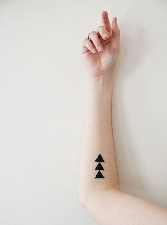 Black amazing temporary tattoo