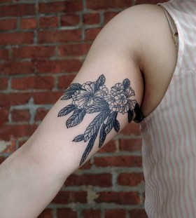 Black funny Victor J Webster tattoo