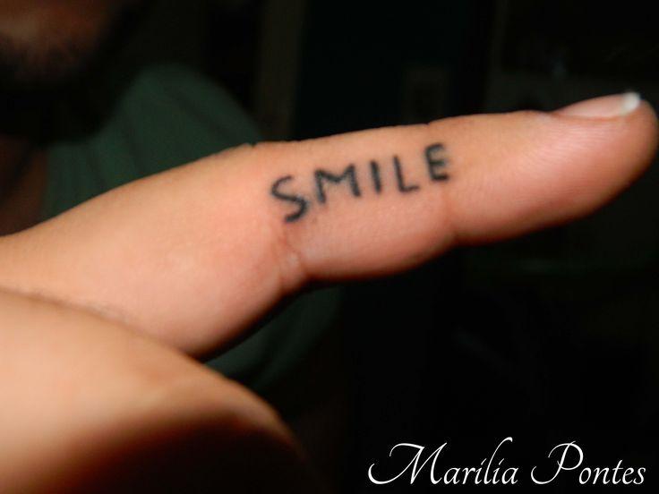 Black smile TATTOO BY- Marilia Pontes