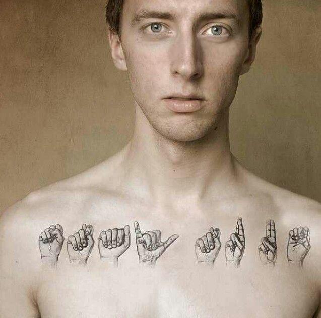 Chest piece men's tattoos