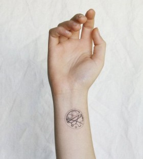 Cool ornamentally temporary tattoo