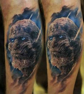 Cruel looking game of thrones tattoo