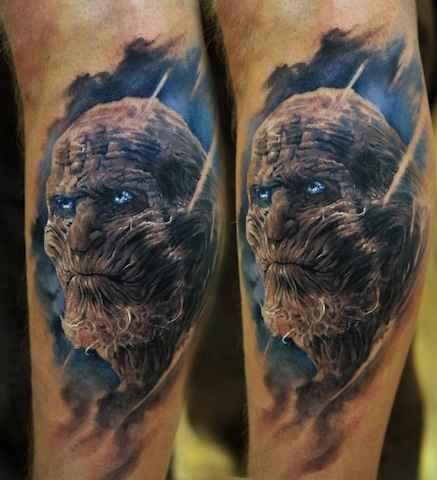 Cruel looking game of thrones tattoo