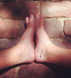 Cute looking foot tattoo