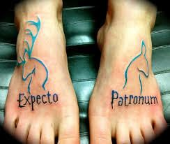 Expectro Patronum accio tattoo