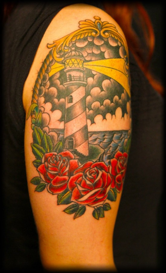 Funny looking American Traditional Tattoo