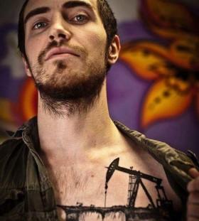 Gorgeous men's love tattoo