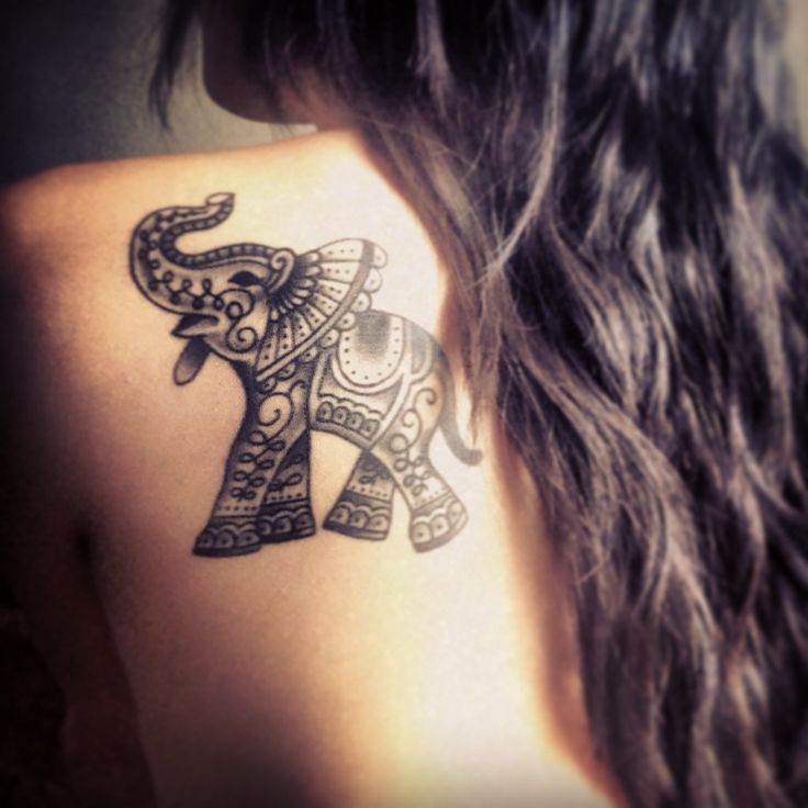 be932a5723039 Gorgeous style elephant tattoo - | TattooMagz › Tattoo Designs / Ink ...