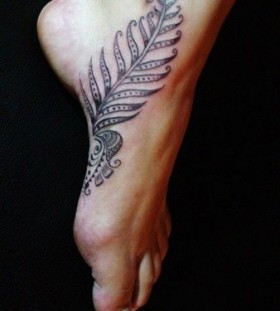 Great looking foot tattoo