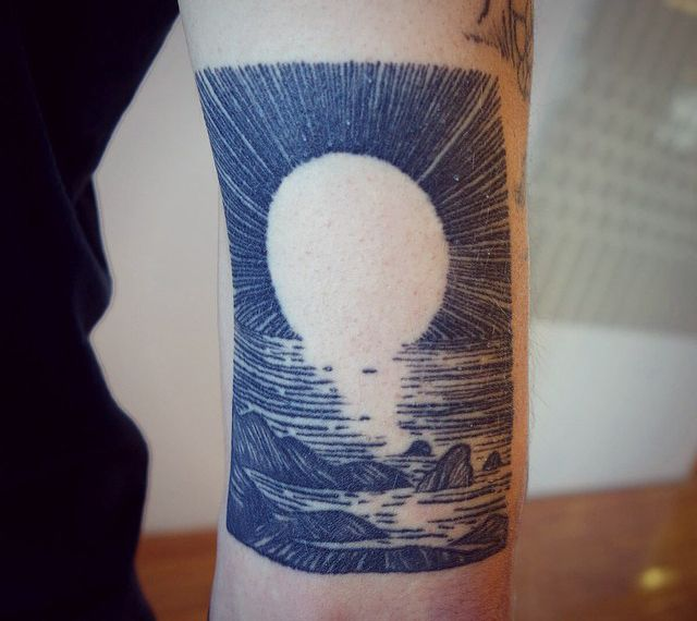 Great looking tattoo by Lisa Orth