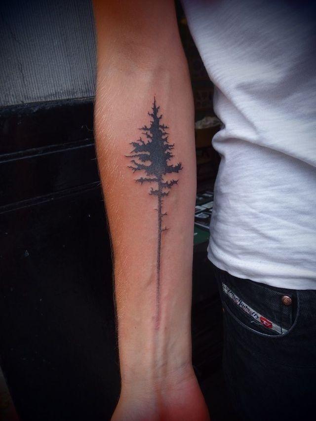 Great Simple Tree Tattoo Tattoomagz Tattoo Designs Ink Works