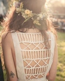 Lovely dress and fashion style tattoo