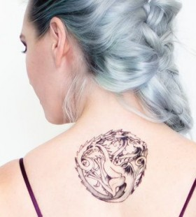 Targaryen Sigil game of thrones tattoo