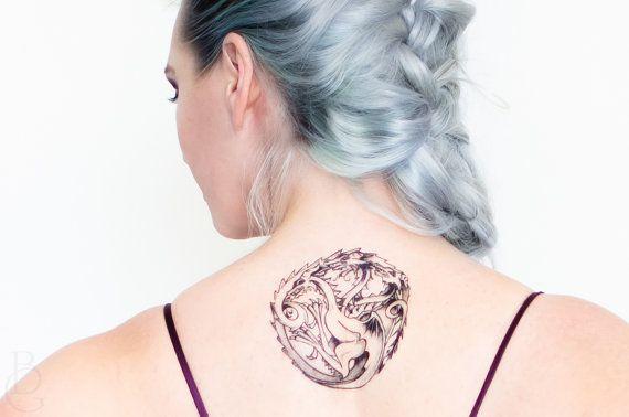 Targaryen Sigil game of thrones tattoo