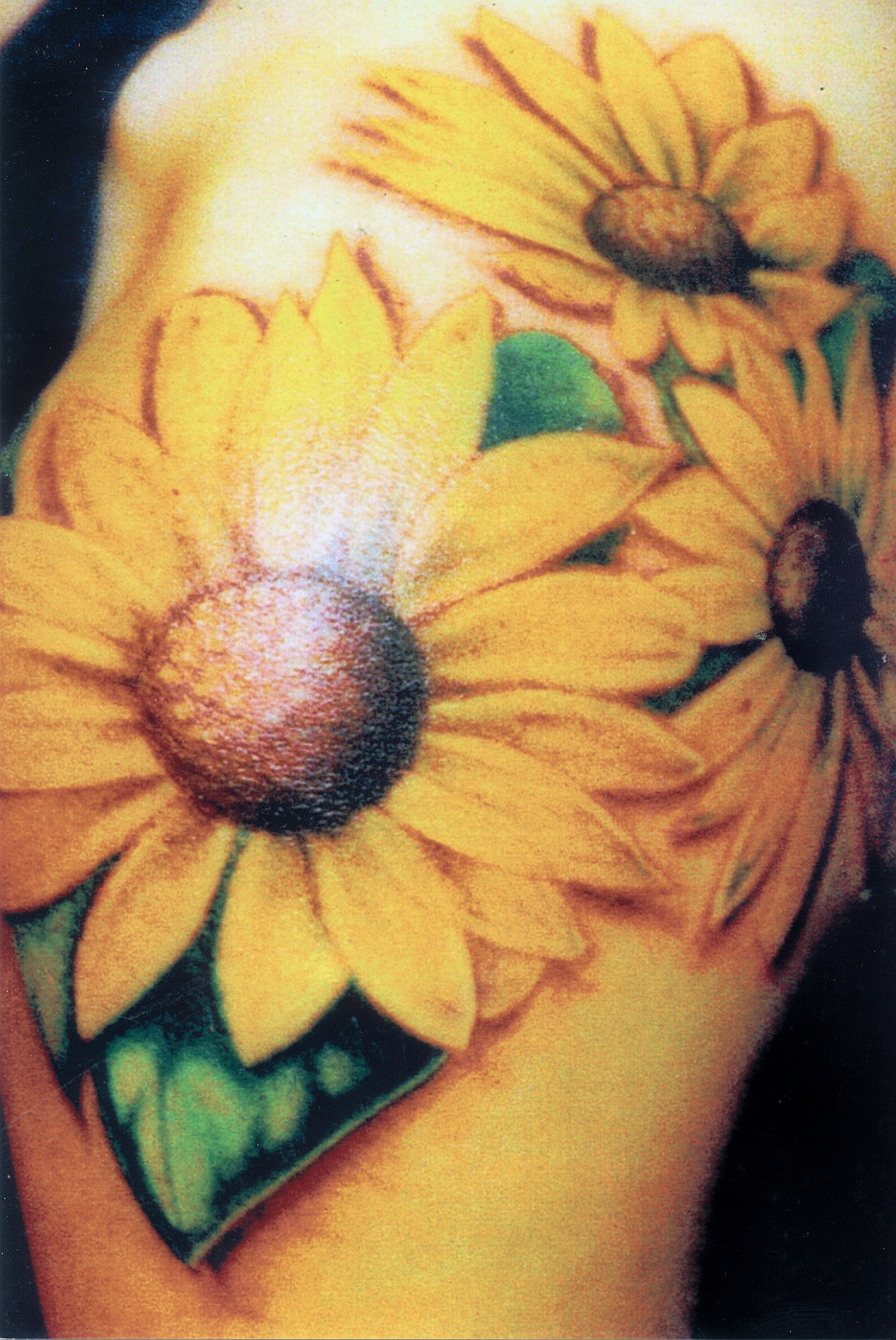 Three cool sunflower tattoo TattooMagz Tattoo