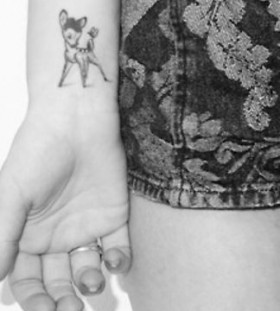 Top models fashion style tattoo