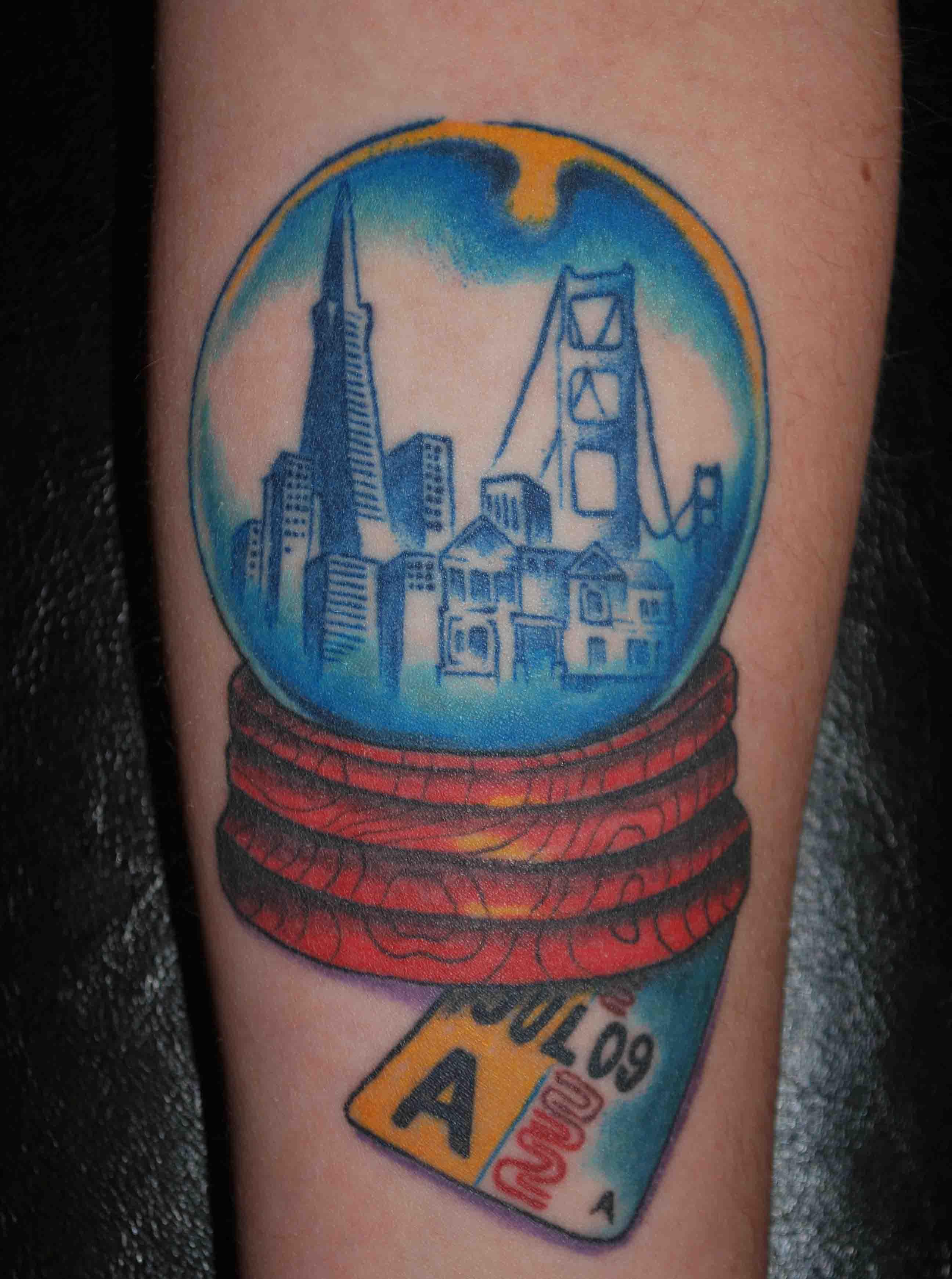 Cool winter tattoos