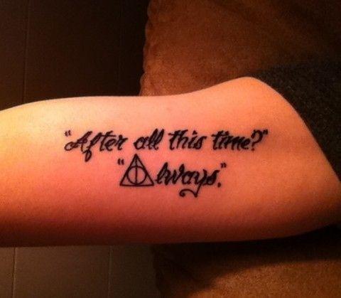 Accios tattoos
