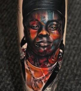 Black men's tattoo by Tattoo da Semana