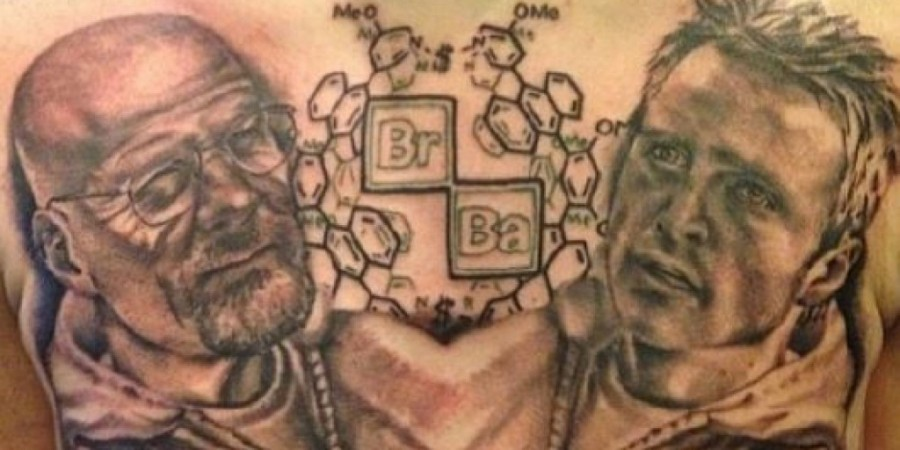 Awesome breaking bad tattoo