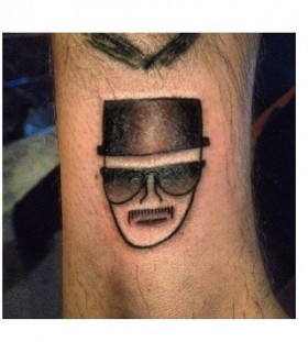 Heisenberg tattoo
