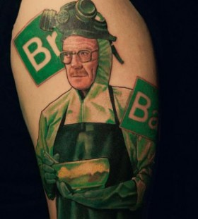 Walter cooking tattoo