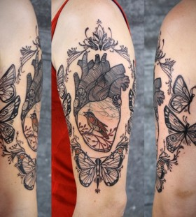 Lovely hand's tattoo by Love Hawk