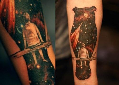 Galaxy Tattoo boy