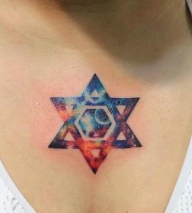 Galaxy Tattoo symbol