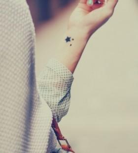 minimal Galaxy Tattoo