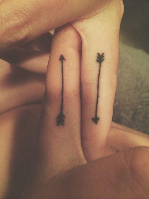 cd9206ace Small fingers arrow tattoo -   TattooMagz › Tattoo Designs / Ink ...