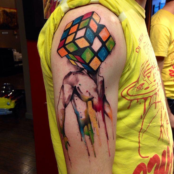 Cube tattos
