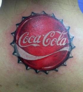 Great look coca cola tattoo