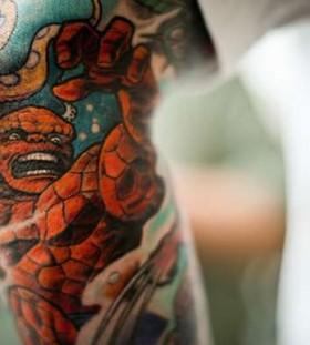 Fantastic four famous people tattoo