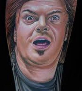 Good looking men's famous people tattoo