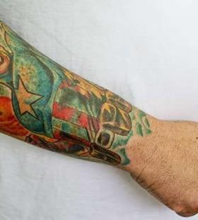 Gorgeous supermen's famous people tattoo
