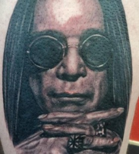 Incredible men's famous people tattoo