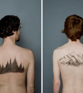 Insanely gorgeous men's tattoo
