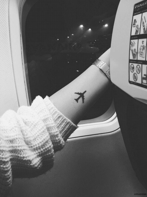 Airplane Tattoo On Hand Tattoomagz Tattoo Designs Ink