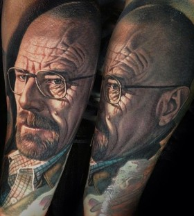 Amazing breaking bad tattoo