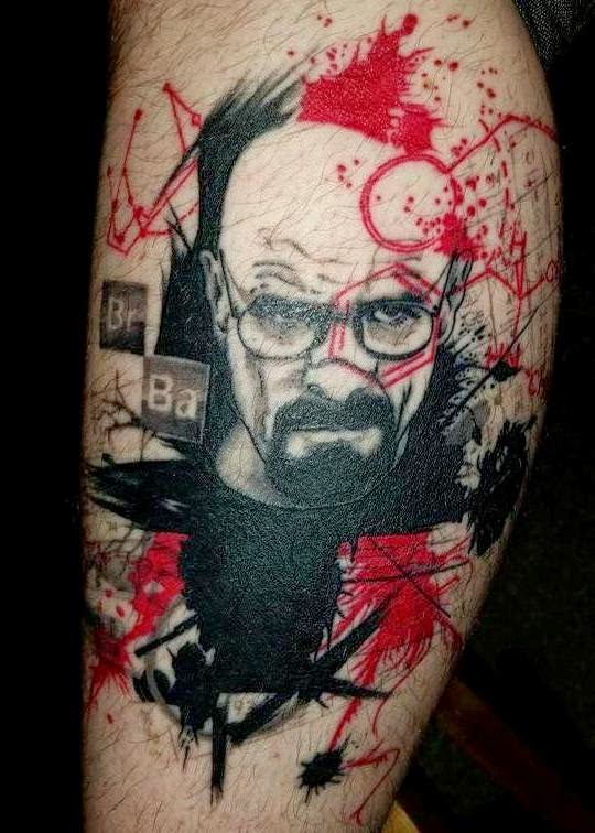 Awesome Walter tattoo